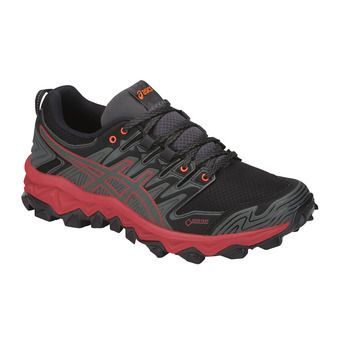 Asics GEL-FUJITRABUCO 7 GTX - Trail Shoes - Women's - dark grey/flash coral