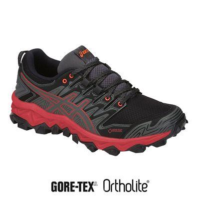 Femme 7 Greyflash Gtx Asics Chaussures Trail Dark Gel Fujitrabuco 4AR5jq3L