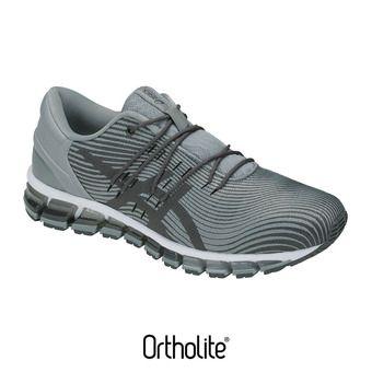 Asics GEL-QUANTUM 360 4 - Chaussures running Homme stone grey/dark grey