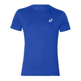 Asics SILVER - Camiseta hombre illusion blue