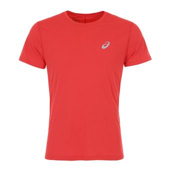 Asics SILVER - Maillot Homme classic red