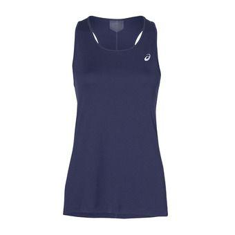 Asics SILVER - Camiseta de tirantes mujer indigo blue