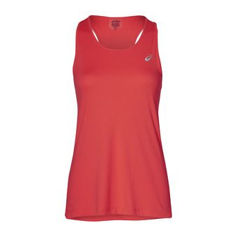 Asics SILVER - Camiseta de tirantes mujer flash coral