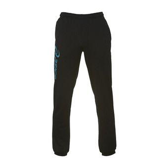 Asics SIGMA - Pants - black/lagoon