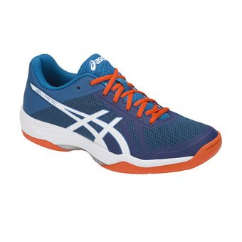 Asics GEL-TACTIC - Chaussures volley Homme blue print/real white