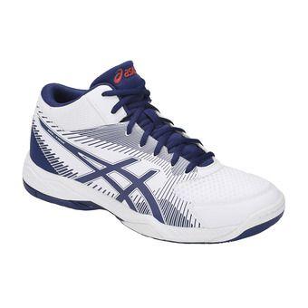 Asics GEL-TASK MT - Zapatillas de voleibol hombre white/blue print