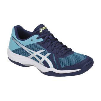 Asics GEL-TACTIC - Zapatillas de voleibol mujer indigo blue/silver