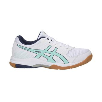 Zapatillas de voleibol mujer GEL-ROCKET 8 white/icy morning