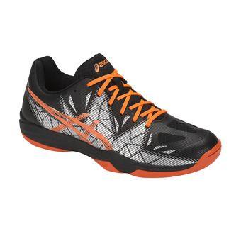 Asics GEL-FASTBALL 3 - Handball Shoes - Men's - black/shocking orange
