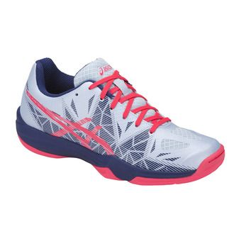 Asics GEL-FASTBALL 3 - Zapatillas balonmano mujer soft sky/diva pink