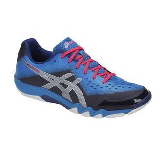 Zapatillas de bádminton hombre GEL-BLADE 6 blue print/race blue