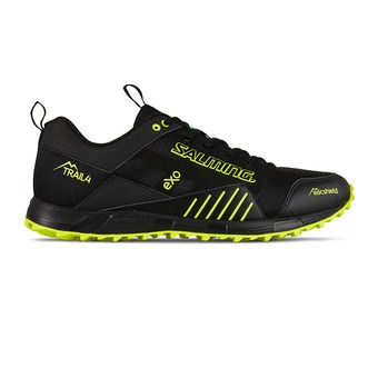 Salming TRAIL T4 - Trail Shoes - Men's - black/yellow