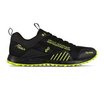 Salming TRAIL T4 - Zapatillas de trail hombre negro/amarillo