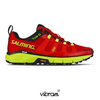 Salming TRAIL T5 - Chaussures trail Femme rouge/jaune