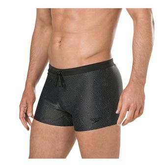 Speedo VALMILTON - Swimming Trunks - Men's - black/green