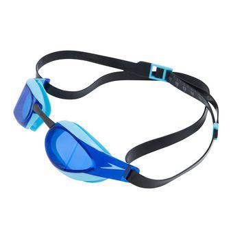 Speedo FAST SKIN - Lunettes de natation black/blue