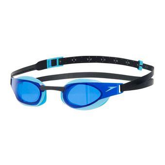 Speedo FASTSKIN ELITE - Lunettes de natation black/blue