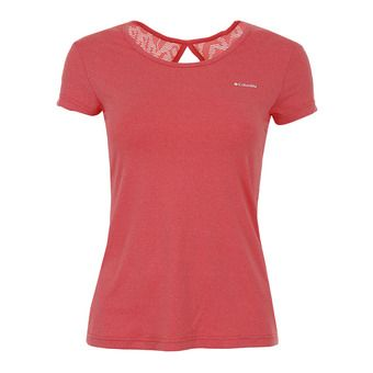 Columbia PEAK TO POINT - Tee-shirt Femme red coral