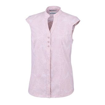 Columbia SATURDAY TRAIL - Camisa mujer mineral pink print