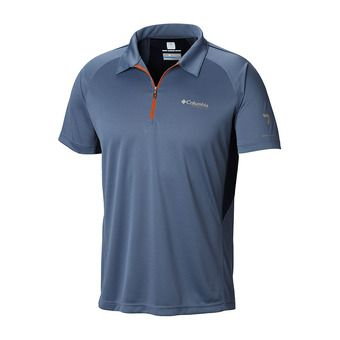 Columbia TITAN TRAIL - Polo hombre mountain/collegiate navy