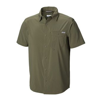 Triple Canyon Solid SS-Cypress Homme Cypress