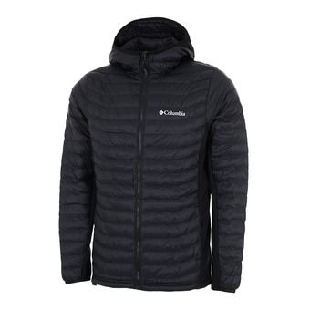 Columbia POWDER LITE LIGHT - Anorak hombre black