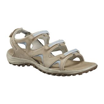 Columbia SANTIAM WRAP - Sandalias mujer ancient fossil/mirage
