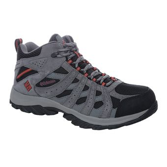 Columbia CANYON POINT WATERPROOF - Chaussures randonnée Homme black/gypsy