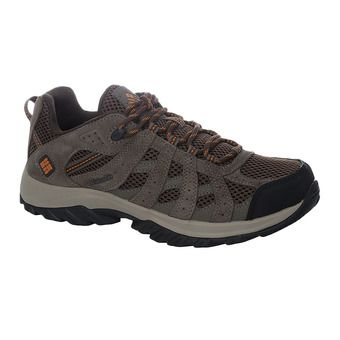 Columbia CANYON POINT - Zapatillas de trail hombre cordovan/bright copper
