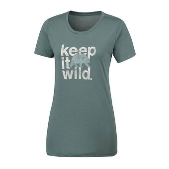 Columbia OUTDOOR ELEMENT - Jersey - Women's - pond/keep it wild