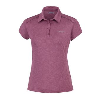 Columbia FIRWOOD CAMP - Polo Femme antique mauve heather