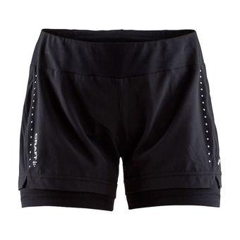 Craft ESSENTIAL - Short 2 en 1 mujer black