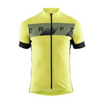 Camiseta hombre REEL lime/black