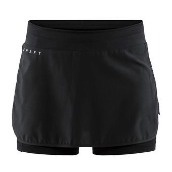Craft CHARGE - Jupe-short Femme noir