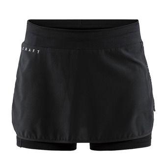 Jupe-short femme CHARGE noir