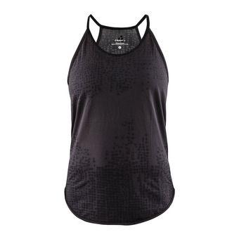 Craft EAZE - Camiseta de tirantes mujer crest/black