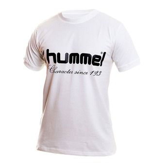 Camiseta hombre UH blanco/negro