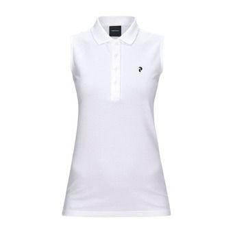 Peak Performance CLAPIQ - Polo Femme white