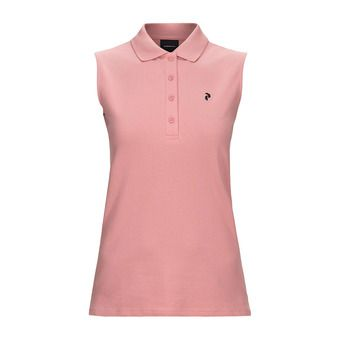 Peak Performance CLAPIQ - Polo - Women's - warm blush