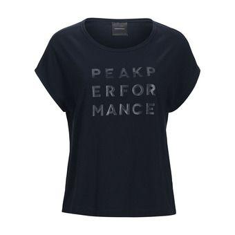 Peak Performance GRO CAP - Camiseta mujer salute blue