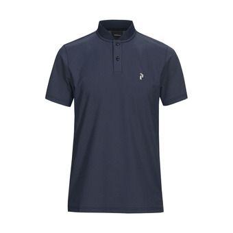shirt flat collar -AUSTINPO Homme Blue Shadow