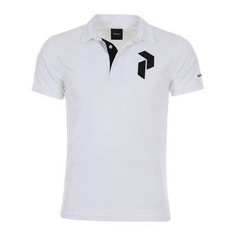 Peak Performance PANMOREPO - Polo Homme white