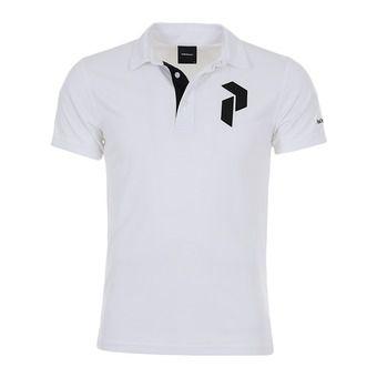 shirt flat collar -PANMOREPO Homme White