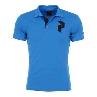 Peak Performance PANMOREPO - Polo Homme blue bird