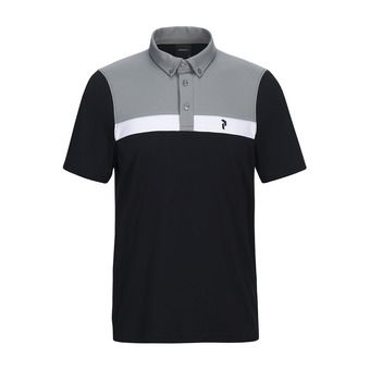 Peak Performance PANMORE - Polo Homme black