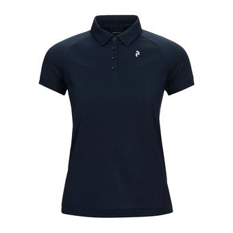 Peak Performance VERSEC - Polo - Women's - blue shadow