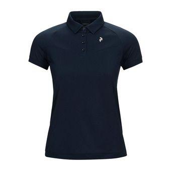 shirt flat collar VERSEC Femme Blue Shadow