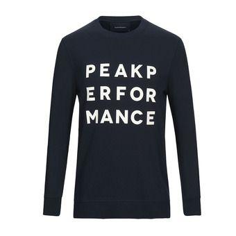 Peak Performance GROUND - Felpa Uomo salute blue