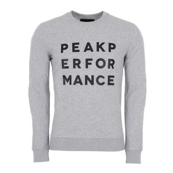 Peak Performance GROUND - Sweatshirt - Men's - med grey mel