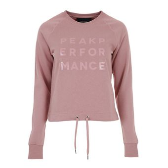 Peak Performance GROUND - Sweat Femme dusty roses